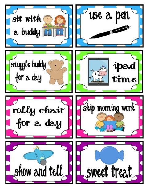 Pin By Sherry Lowe On Behavior Management Pinterest Pbis Ticket Template