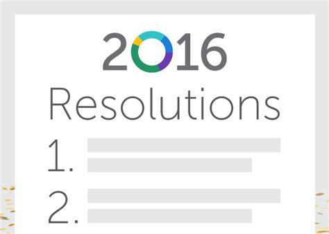 new year 2016 promotion ideas marketing new year s resolutions for 2016annalect