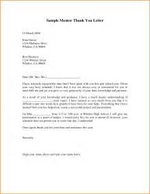 5 mentor thank you letter mac resume template