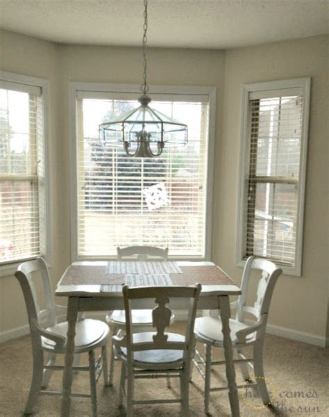 how to decorate a bay window how to decorate a rental bold curtains and a diy bay