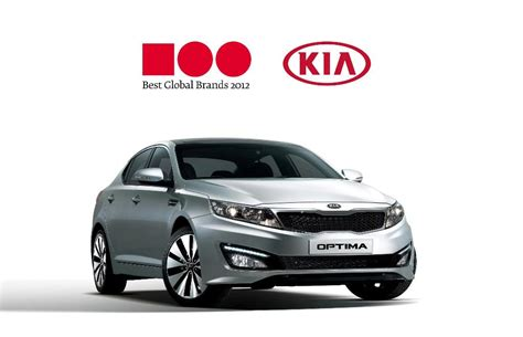 Kia Motors Kia Motors Enters Ranks Of The Top 100 Best Global Brands