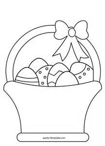 Easter egg woven basket template multiforme top