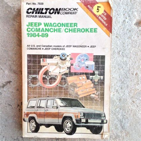 automotive repair manual 1992 jeep cherokee auto manual sell chilton s auto repair manual jeep wagoneer comanche cherokee 1984 1989 motorcycle in
