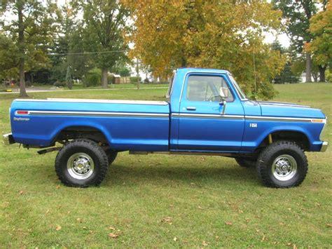 1975 F250 Highboy Blue