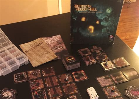 games like betrayal at house on the hill favorite board or card games