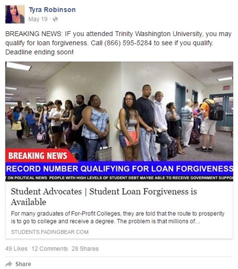 Mba Loan Forgiveness Nonprofit by Proposed Federal For Student Debt Forgiveness Worry