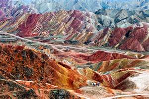 colorful mountains colorful mountains zhangye danxia atlas of wonders