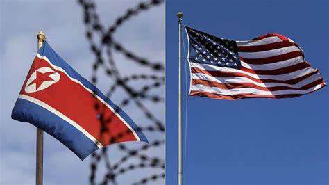 Bendera Amerika Serikat menlu as tidak ada ancaman pecahnya perang dengan korut sindikasi news okezone howldb