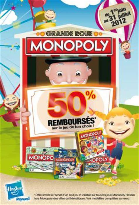 Promo Monopoly Monopoli The Original monopoly 50 rembours 233 224 partir de 13