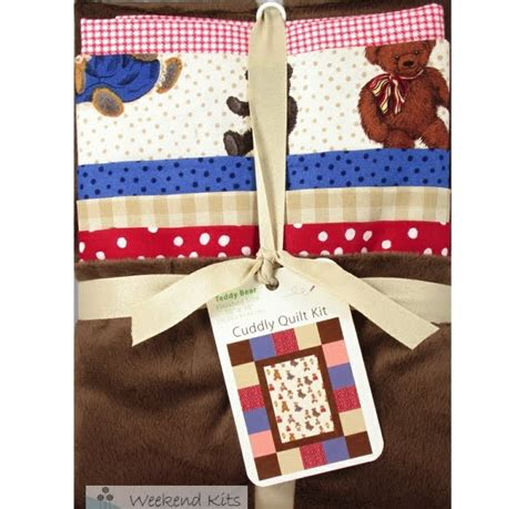 Cuddly Quilt Kits by Weekend Kits New Selection Baby Quilt Kits Wall