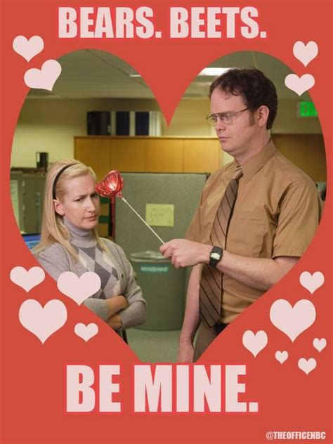 the office valentines cards dwight angela the office the office