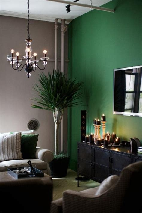 Living Rooms Painted Green by Accent Wall Home Sweet Home