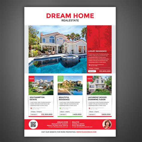 Professional Real Estate Flyer Templates 40 professional real estate flyer templates themekeeper