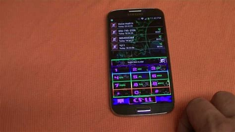 themes for samsung galaxy s4 samsung galaxy s4 dialer theme youtube