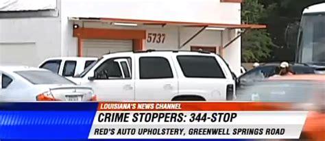 Auto Upholstery Baton by Murder Strikes Louisiana Trim Shop