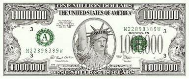 Million Dollar Bill Template by Put Your On Money Mac K 5 Computer Lab