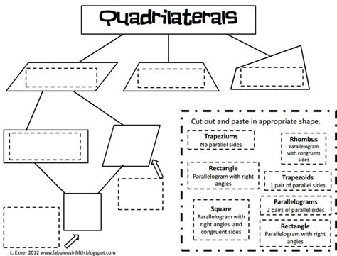 quadrilateral worksheets 5th grade worksheets for all