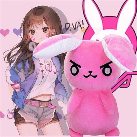 Cheongsam Rabbit Strawberry Overwatch D Va Dva Plush Bunny Sd01450