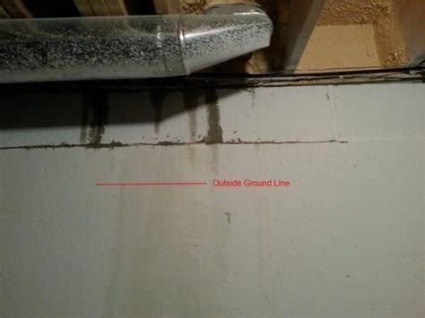 water leaking at basement joists into house how to
