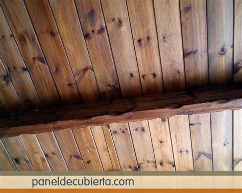 techos decorativos de madera madera para cubiertas madrid paneldecubierta