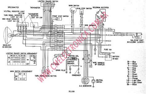 diagrama honda sl100 diagrama free engine image for user