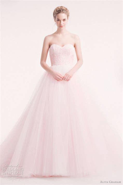 Light Pink Wedding Dresses by Alita Graham Wedding Dresses 2012 Wedding Inspirasi