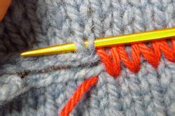 how to connect two knitted pieces mattress stitch knitting free tutorial you to read