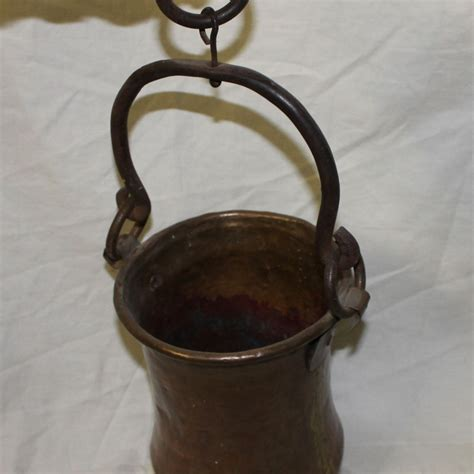 Handmade Copper Pots - bargain s antiques 187 archive antique
