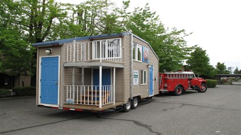 Tiny House On Trailer Tiny House Trailer Plans Mini House Tiny Houses On Trailers