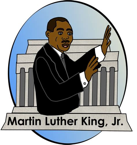 Martin Luther King Clip Free