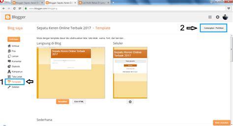 membuat online store dengan blogspot cara membuat toko online terpercaya dengan blogspot