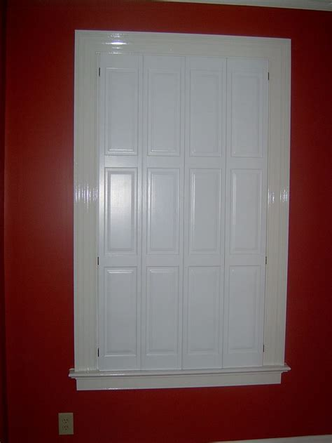 raised panel interior window shutters 9 best images about raised panel shutters on
