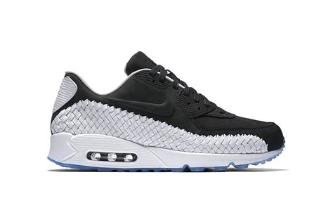 Nike Airmax 90 Black White nike air max 90 woven in black white hypebeast
