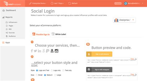 amazon si鑒e social instagram and amazon social login now available