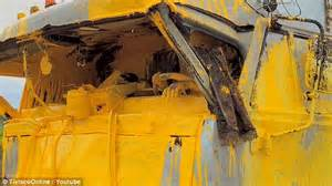 yellow paint sles russian truck driver left covered in thick yellow paint after explosion daily mail online