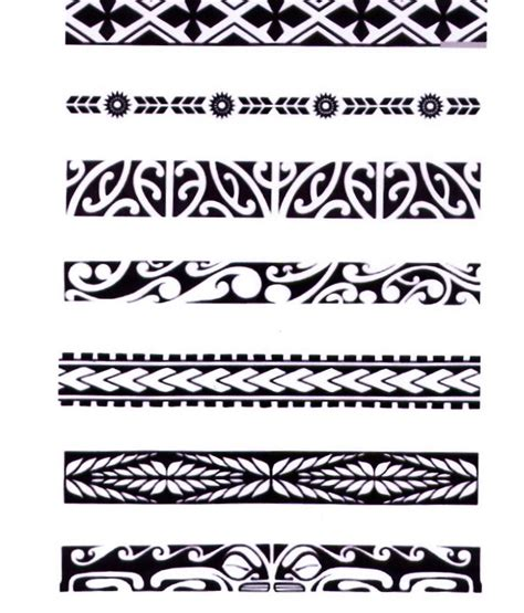hawaiian tribal pattern meanings the gallery for gt polynesian wristband tattoos