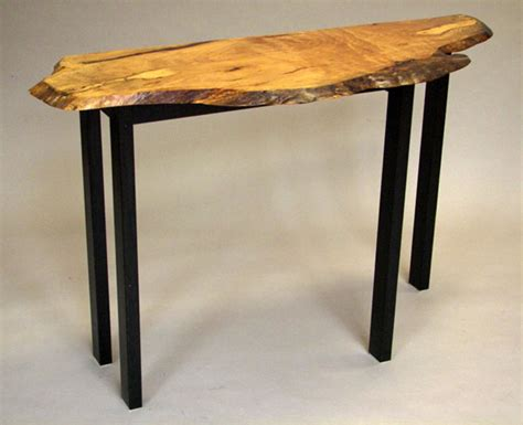 live edge sofa table guild of vermont furniture makers
