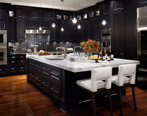 modern black kitchen cabinets tips of designing nice and simple modern kitchens