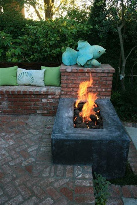 rechteckige feuerschale 22 feuerstelle designs im garten den patio bereich