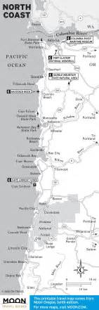 map of oregon northern coast the 10 best places to c on oregon s coast moon oregon places and cs