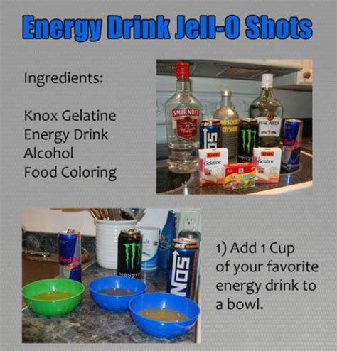 energy drink jello how to make energy drink jell o izismile