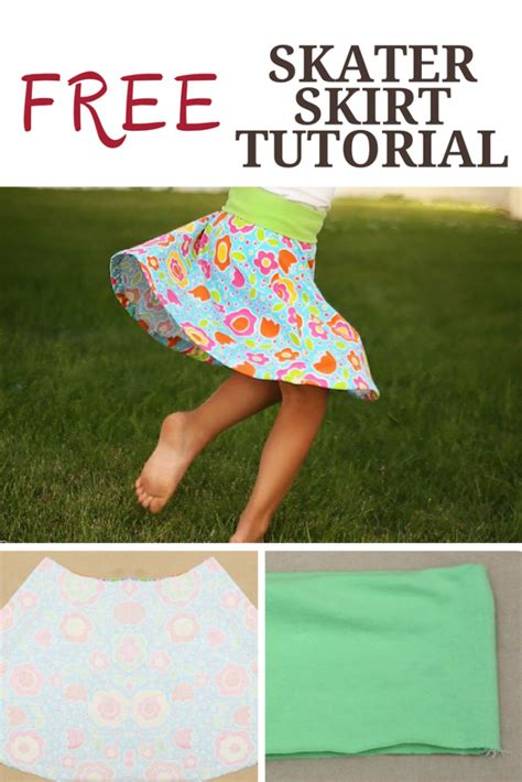 skater skirt pattern peekaboo pages sew