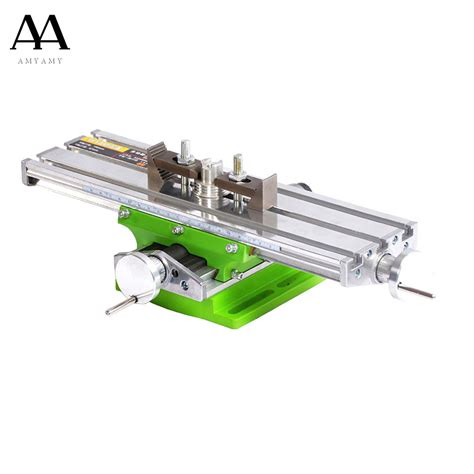 machine bench mini multifunctional cross working table for drilling