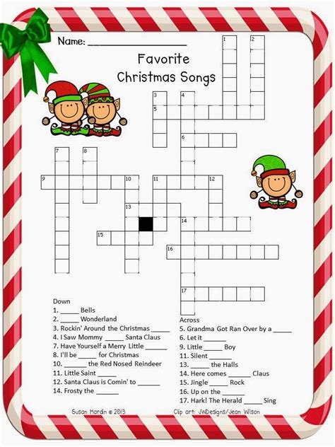 search results for christmas holiday crossword puzzles