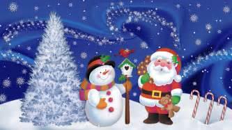 Christmas reindeer santa claus wooden house vector snow wallpaper hd