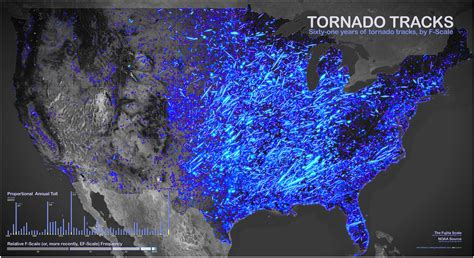 usa tornado map tornado season