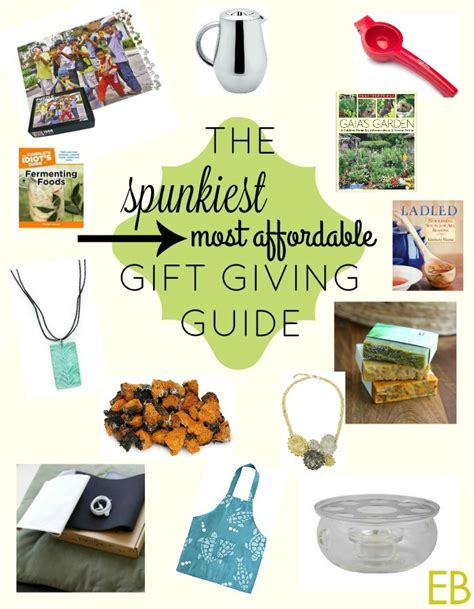 the spunkiest most affordable holiday gift buying guide