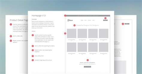 Wireframe Ui Presentation Deck For Just 5 From Sidecar Wireframe Indesign Wireframe Template
