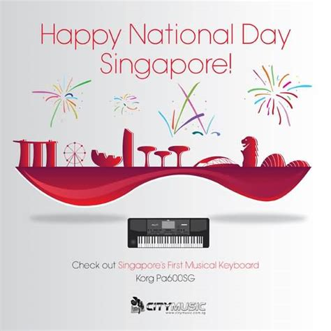 happy national day happy national day singapore greeting card