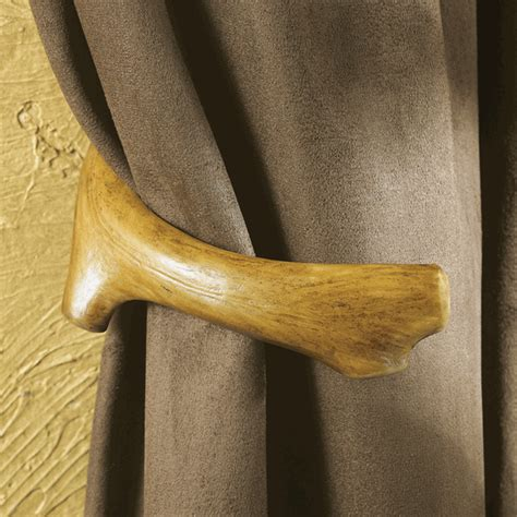 antler curtain rods antler curtain tie backs set of 2